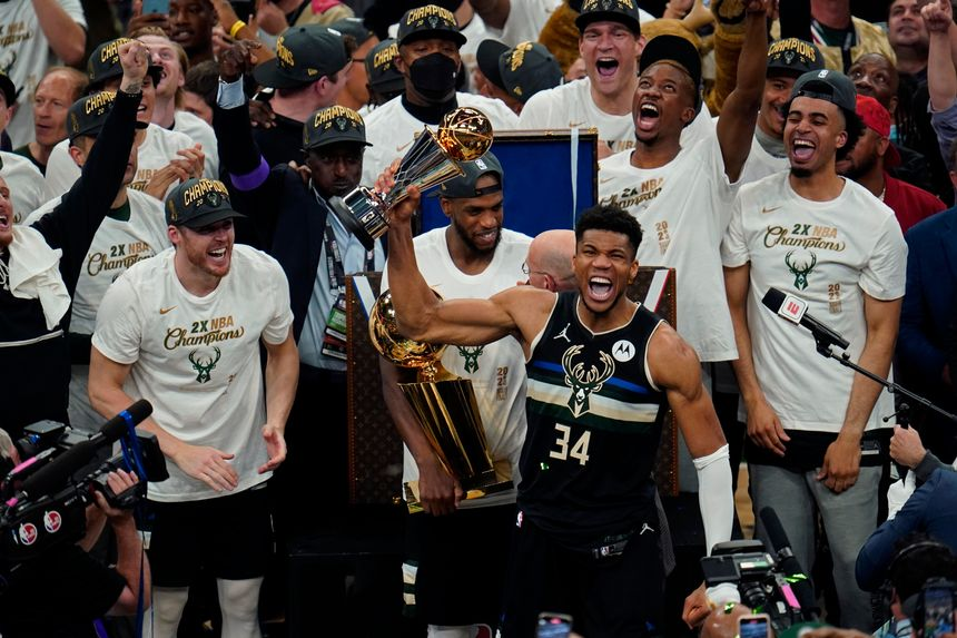 Milwaukee Bucks win NBA title for the first time in 50 ...